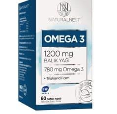 Naturalnest Omega 3 Balık Yağ