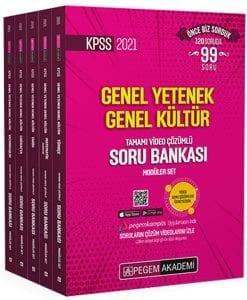 2021 KPSS Genel Yetenek Genel Kültür Tamamı Video Çözümlü Soru Bankası Modüler Set