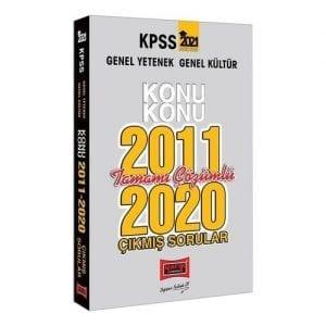 Yargı Yayınları 2021 KPSS Genel Yetenek Genel Kültür Konu Konu Tamamı Çözümlü Çıkmış Sorular