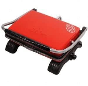Dökümix Döküm Organik Tost Makinesi 1800W Kırmızı Ev Tipi