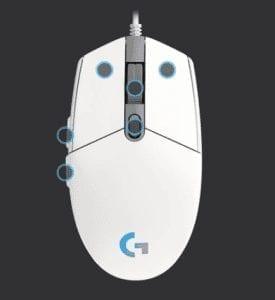 Logitech G G102 Lightsync Oyuncu Mouse