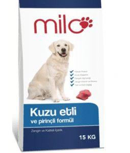 Milo Kuzu Etli & Pirinçli Yetişkin Köpek Maması