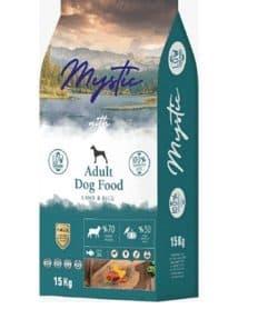 Mystic Az Tahıllı Yetişkin Köpek Maması Kuzulu