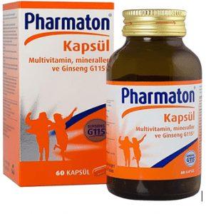 Pharmaton 60 Kapsül Multivitamin