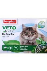 Beaphar Veto Pure Bio Spot On Kedi Pire ve Kene Damlası