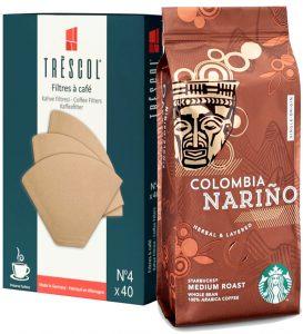 starbucks filtre kahve