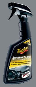 Supreme Shine Plastik, Vinil ve Torpido Temizleyici & Koruyucu