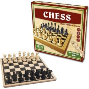 Star Chess Ahşap Satranç Takımı Plastik Satranç Taşı