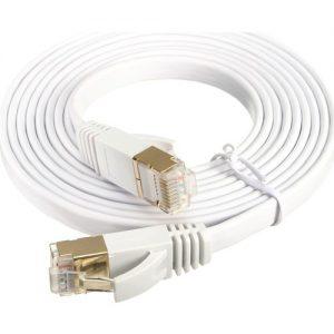Alfais 4256 Cat7 Ethernet RJ45 Modem İnternet Kablosu 1 Metre