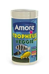 Amore Tropheus Veggie Chips Tanganyika Malawi Bitkisel Algae Spirulina Sarımsak Balık Yemi