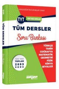 Ankara Yayıncılık – TYT Tüm Dersler Soru Bankası