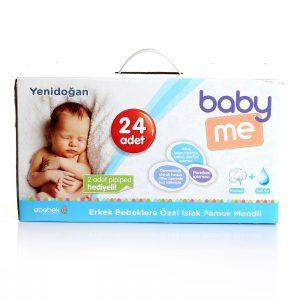 Baby Me Yenidoğan Pamuk Mendil