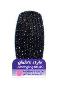 Glide'n Style – Tender Care Argan Yağlı ve Keratinli Sapsız Açma ve Tarama Fırçası