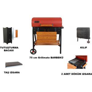 Grillmate Basic 75 cm Barbekü Mangal Seti