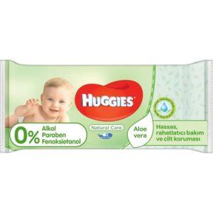 Huggies Islak Havlu (Doğal Bakım)