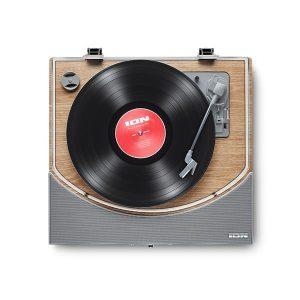 Ion – Premier LP Bluetooth Hoparlörlü Ahşap Pikap
