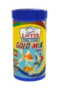 Lotus Gold Mix Granulat Japon Balığı Yemi