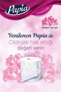 PapiaParfümlü Tuvalet Kağıdı