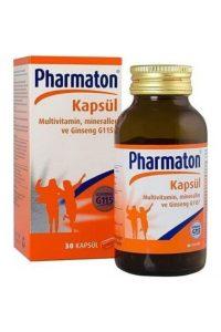 Pharmaton – Vitality Kapsül Takviye Edici Gıda (30)