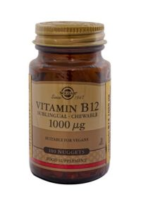 Solgar – Vitamin B12 100 Mcg Tablet