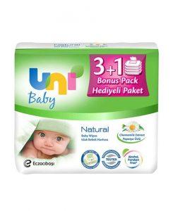 unibaby bebek ıslak mendili