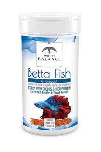White BalanceBetta Fish Granules Yem