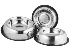 Ankur – Köpek Oval Çelik Mama ve Su Kabı