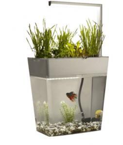 Aqua Garden – Kendi Kendini Temizleyebilen Ledli Akvaryum