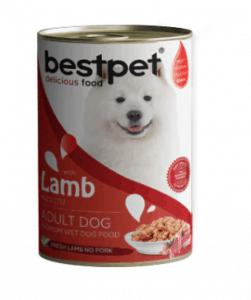 BestPet – Kuzulu Yetişkin Köpek Konservesi