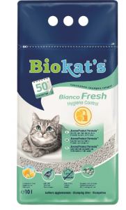 Biokat's – Bianco Fresh Hijyenik Topaklanan Bentonit Kedi Kumu