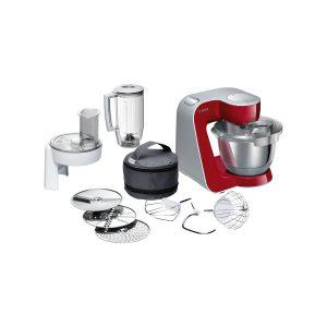 Bosch – Kithen Machine MUM5 1000W Kırmızı- Gümüş Mutfak Makinası