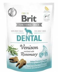 Brit – Dental Biberiye ve Geyik Etli Diş Sağlığı İçin Köpek Ödülü