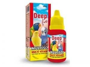 Deep Fix – Multisol Kuş Vitamini