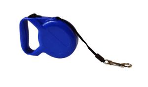 Dog Leash – Otomatik Şerit Tasma – Mavi