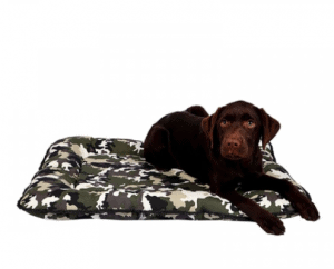 Dubex – Kamuflaj Desenli Köpek Minderi –Yeşil