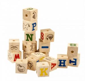 Duvo+ - Wooden Smart Cubes – Hamster Oyun Küpleri