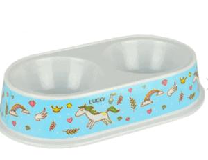 Flip – Küçük Irk Köpekler İçin İkili Melamin Mama ve Su Kabı