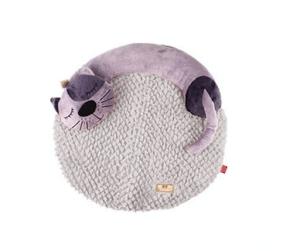 Gigwi – Snozzy Friends Uyuyan Kedi Gri Kedi ve Köpek Yatağı