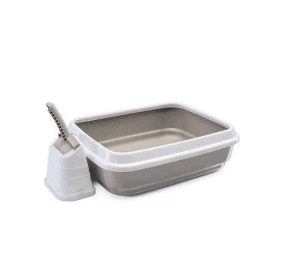 Imac – Duo Açık Kedi Tuvalet Kabı ve Kürek