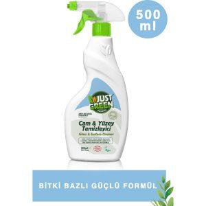 Just Green Organic – Cam ve Yüzey Temizleyici