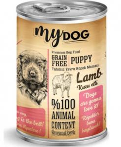 Mydog – Tahılsız Kuzu Etli Yavru Köpek Konservesi