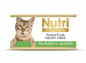 Nutri Feline- Ton ve Alabalıklı Tahılsız Kedi Konservesi
