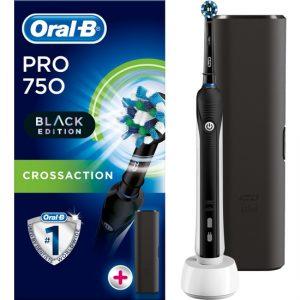 Oral-B Pro 750 Şarj Edilebilir Diş Fırçası Cross Action