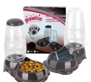 Pawise – Gravity Kedi ve Köpekler İçin Otomatik Mama ve Su Kabı