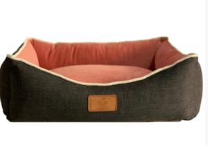 Peggy - Bernie Köpek Yatağı – Gri-Pembe – Medium