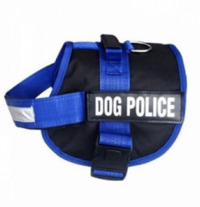 Pet Pretty – Dog Police Köpek Göğüs Tasması