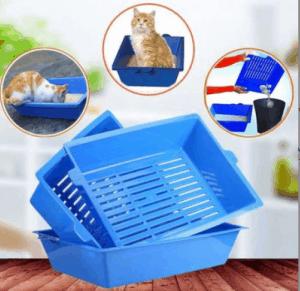 Petzanya – 3 Katlı Elekli Kedi Tuvaleti