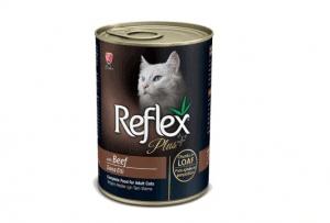 Reflex – Plus Biftekli Kedi Konserve Pate İçinde Et Parçacıklı