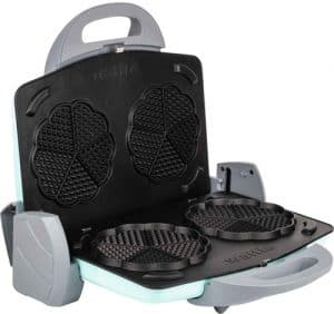 Tantitoni Granit Waffle Plakalı Izgara ve Tost Makinesi