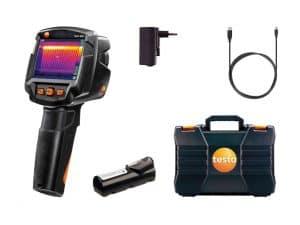 Testo 865 Termal Kamera Sıcaklık ve Su Kaçağı Tespit Cihazı